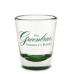 The Greenbrier America's Resort Shot Glass