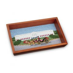 The Greenbrier Front Entrance Valet Tray