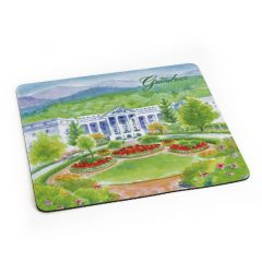 Greenbrier Logo North Entrance Mouse Pad
