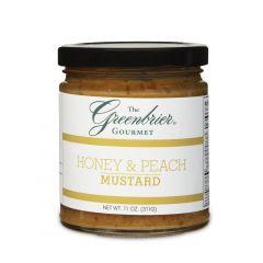 Greenbrier Gourmet Honey & Peach Mustard