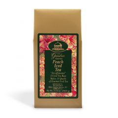 peach tea example with garnish