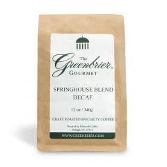 Greenbrier Gourmet Springhouse Blend Decaf Coffee