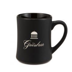The Greenbrier Springhouse Matte Black Mug