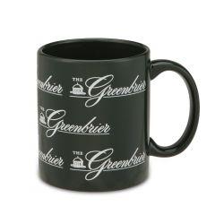 Greenbrier Repeat Logo with Springhouse Mug
