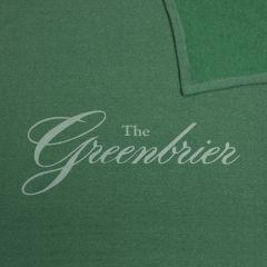 The Greenbrier Sweatshirt Stadium Blanket- Sea Green