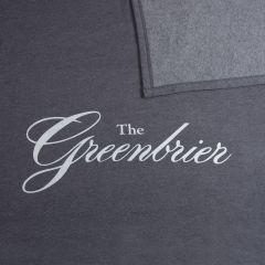 The Greenbrier Sweatshirt Stadium Blanket- Grey