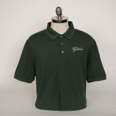 Greenbrier Logo Advantage Solid Polo (Big & Tall) - Hunter Green