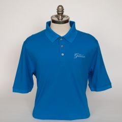 Greenbrier Logo Advantage Solid Polo (Big & Tall) - Digital Blue
