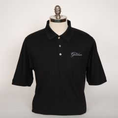 Greenbrier Logo Advantage Solid Polo (Big & Tall) - Black