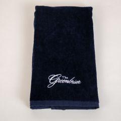 The Greenbrier Logo Golf Towel - Navy