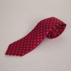Greenbrier Silk Springhouse Neck Tie-Red