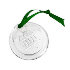 The Greenbrier Springhouse Glass Ornament
