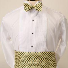 Greenbrier Springhouse Bow Tie & Cummerbund Set-Yellow