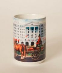 The Greenbrier Front Entrance Carriage Mug
