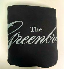 The Greenbrier Sweatshirt Stadium Blanket- Black