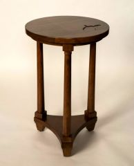 Greenbrier Colonnade Customizable Drink Table - Cherry with WV