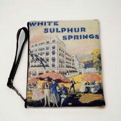 The Greenbrier White Sulphur Springs Vintage Wristlet