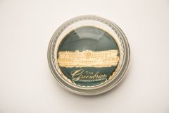 The Greenbrier Front Entrance Pewter Paper Weight