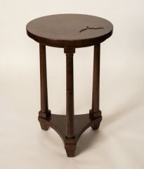Greenbrier Colonnade Customizable Drink Table - Cherry Wheatland with WV