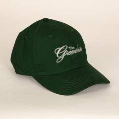 Greenbrier Logo Lightweight Cotton Cap- Forest Green