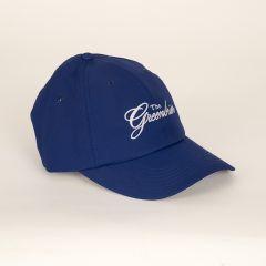 Greenbrier Logo Men's Performance Cap- Cobalt