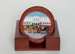 The Greenbrier Front Entrance Coaster Set