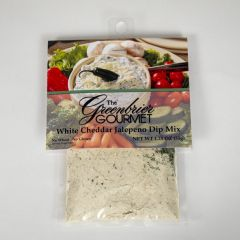 The Greenbrier Gourmet White Cheddar Jalapeno Dip Mix