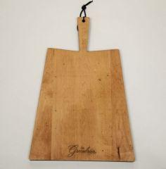 Greenbrier Logo Paddle Handle Serving Board
