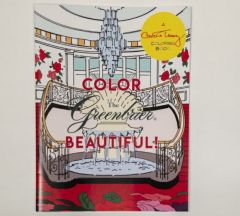 The Greenbrier Coloring Book by Carleton Varney