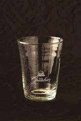 Greenbrier Logo Clear Party Glass