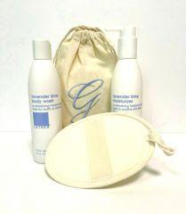 LATHER Lavender Lime Bath & Body Gift Set