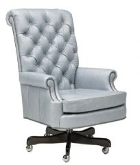 Greenbrier Tufted Leather Executive Chair (Quote)