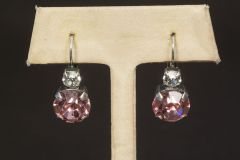 Greenbrier Exclusive Mariana Large Stone Earrings - Pink