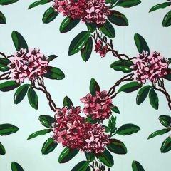 Dorothy Draper- Rhododendron Wallpaper (Mint)