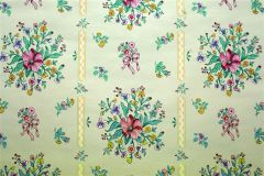 Dorothy Draper- Rosalyn Wallpaper- Soft Aqua