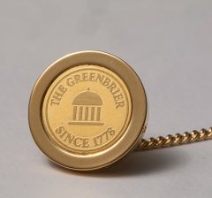 The Greenbrier Springhouse Since 1778 Tie Tack