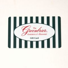 The Greenbrier Resort Gift Card
