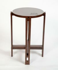 Greenbrier Summit Customizable Drink Table - Cherry with Springhouse