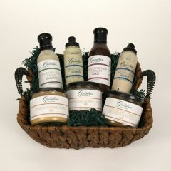 The Greenbrier Gourmet Dips, Sauces & Dressings Gift Basket